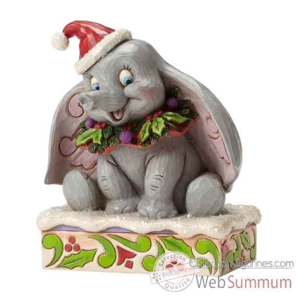 Statuette Sweet snow fall dumbo Figurines Disney Collection -4051969
