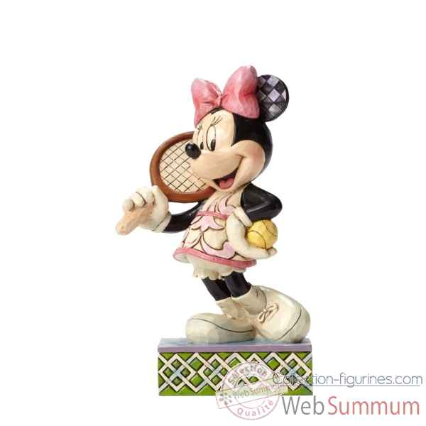 Statuette Tennis, anyone? minnie mouse Figurines Disney Collection -4050404