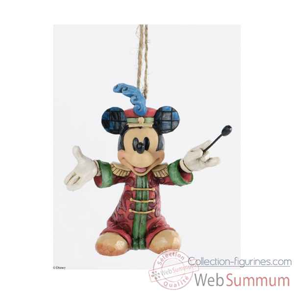 Mickey chef d\'orchestre suspension Figurines Disney Collection -A25902
