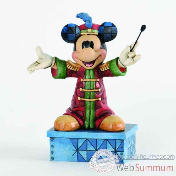The band concert mickey mouse Figurines Disney Collection -4033284