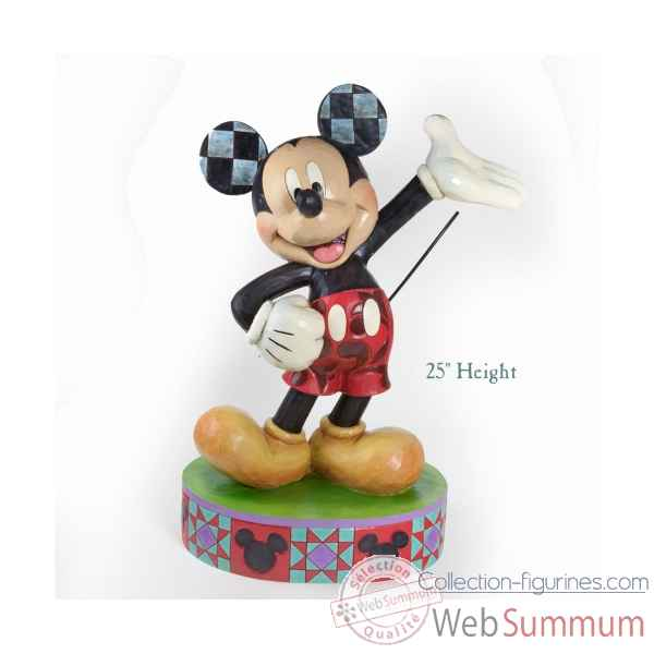 The one & only mickey mouse Figurines Disney Collection -4037509