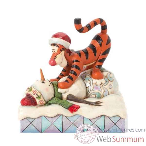 Tigger on snowman Figurines Disney Collection -4039044