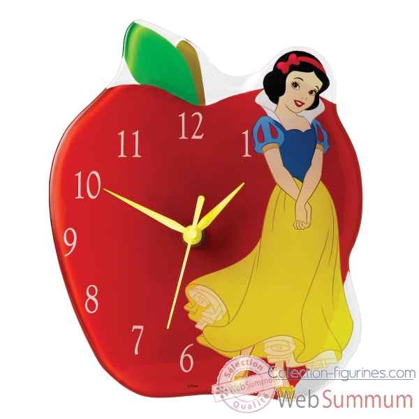 Timeless fairy tale (blanche neige clock) r enchanting dis Figurines Disney Collection -A25234