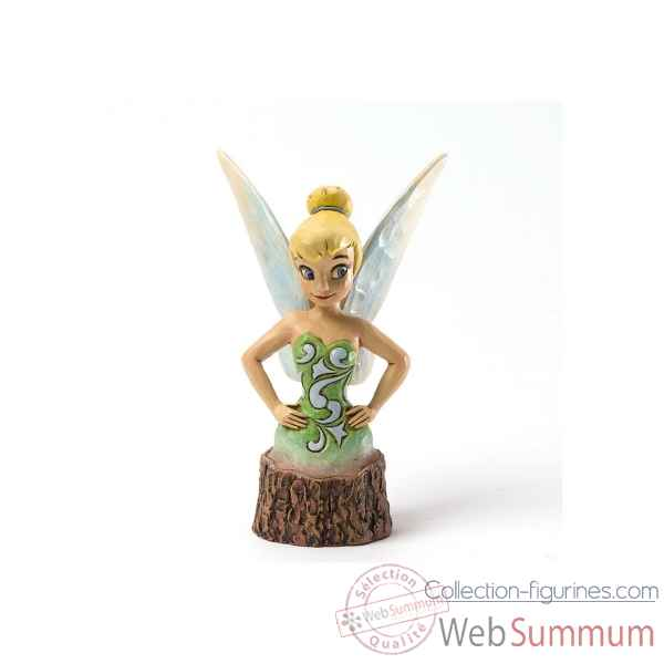 Tinker bell (wood carved) Figurines Disney Collection -4033292