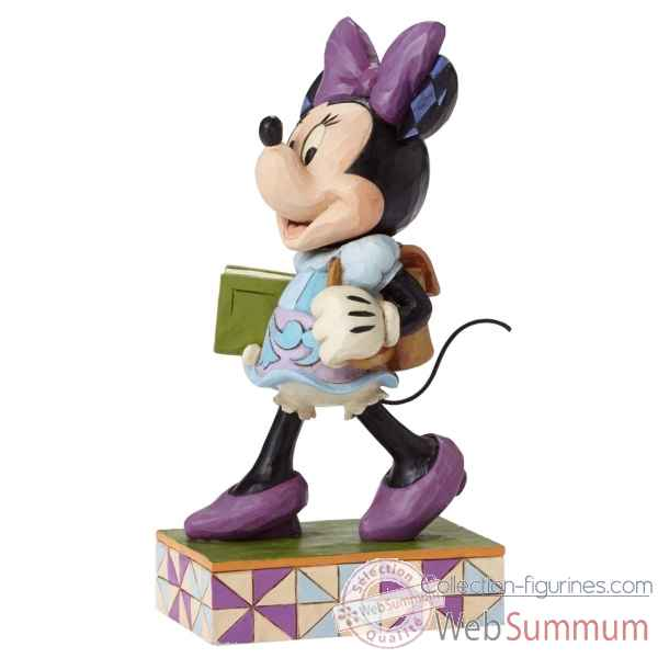 Statuette Top of the class minnie mouse Figurines Disney Collection -4051996