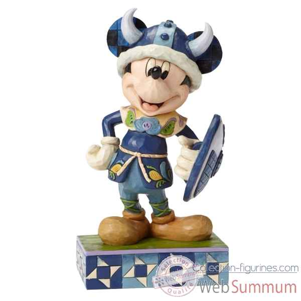 Statuette Welcome to norway mickey mouse Figurines Disney Collection -4051992