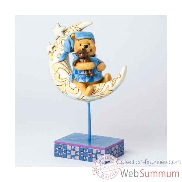 Winnie the pooh on the moon Figurines Disney Collection -4038499