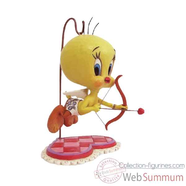 Statuette You\'re my tweet heart- titi cupidon Figurines Disney Collection -4055771