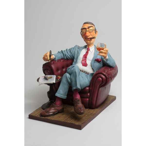 Figurine forchino le big boss collection professions - metiers: 20-24 cm -FO84016