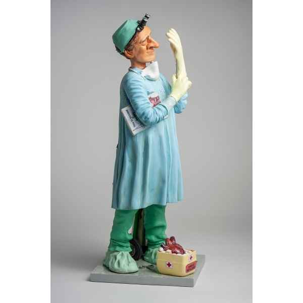 Figurine forchino le chirurgien collection professions - metiers: 20-24 cm -FO84015