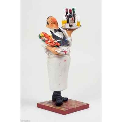 Figurine The waiter - le serveur Forchino FO85519