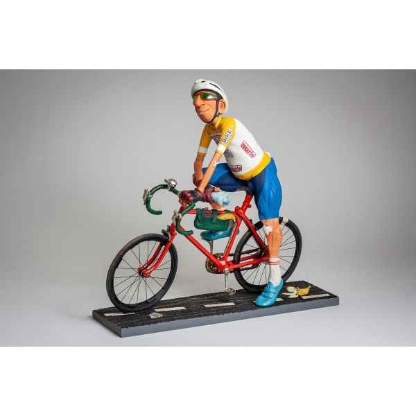 Grande figurine forchino le cycliste collection professions - metiers -FO85550