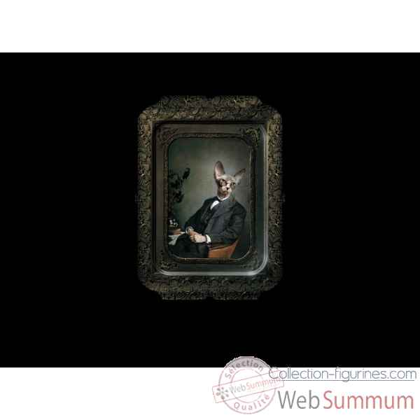 Visconti plateau tableau rectangulaire chat aristide ibride
