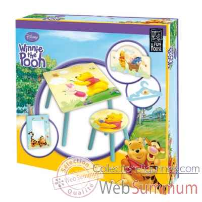 Coffret 8 pieces winnie l'ourson Jemini -711580