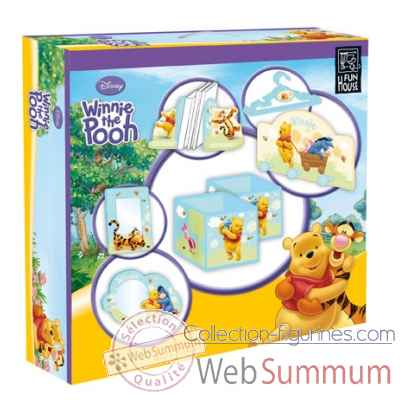 Coffret 10 pieces winnie l'ourson Jemini -711582