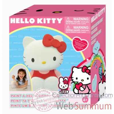 Hello kitty tirelire a peindre Jemini -304401