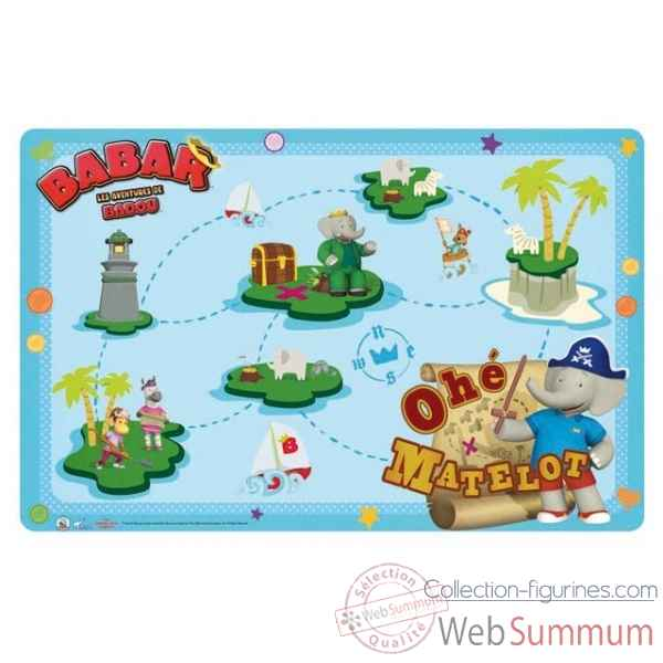 Set de table babar Jemini -4762