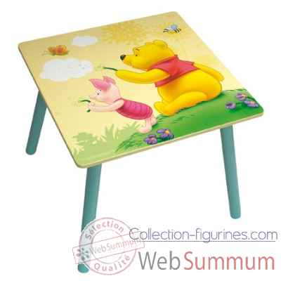Table carree winnie l'ourson Jemini -711435