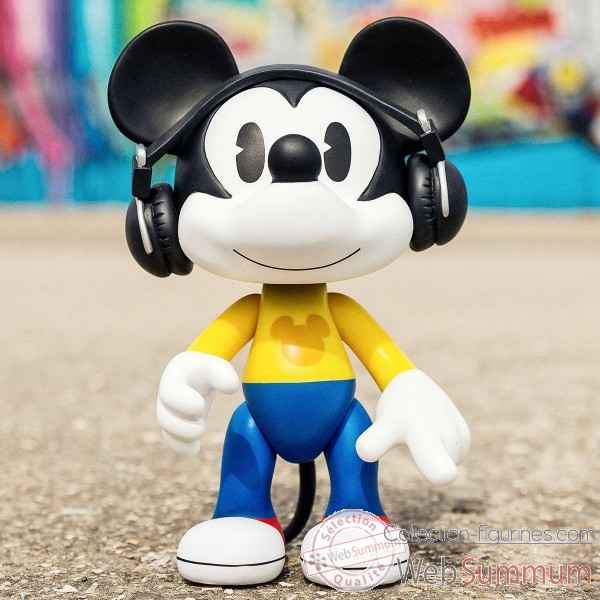 Figurine artoy mickey casque player Leblon-Delienne -DISAT22MKCA