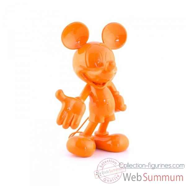 Figurine mickey welcome orange Leblon-Delienne -DISST03001OT