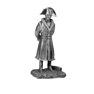 Figurine collection empire napoleon a eylau les etains du graal em007