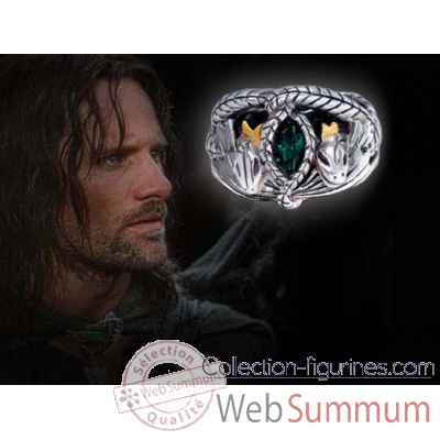 Aragorn - anneau barahir - replique Noble Collection -NN0954