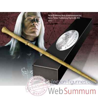 Baguette de lucius malefoy Noble Collection -NN8208