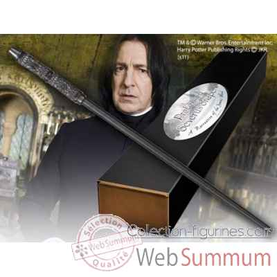 Baguette du professeur severus rogue Noble Collection -NN8405