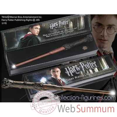 Baguette lumineuse - harry potter Noble Collection -NN1910