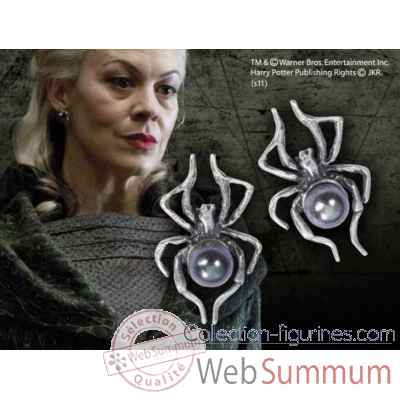 Boucles d\'oreilles de narcissa malefoy Noble Collection -NN7846