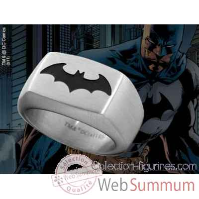 Chevaliere embleme batman noir Noble Collection -NNXT8316