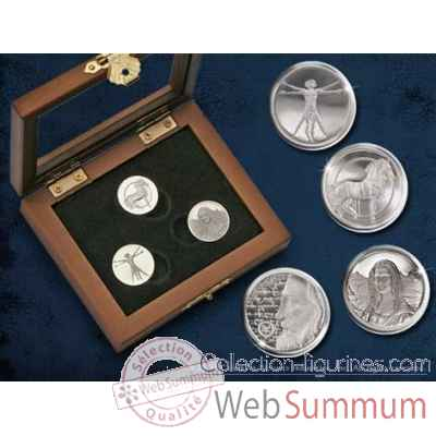 Coffret de pieces de vinci Noble Collection -NN5812