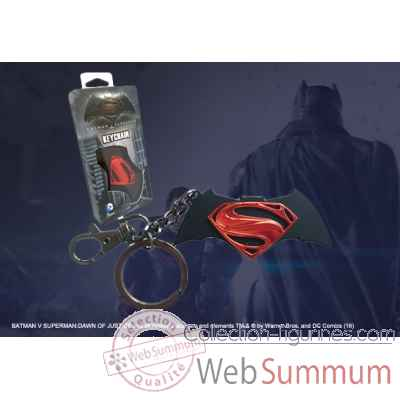 Dc - batman vs superman logo porte-cles Noble Collection -NN4124