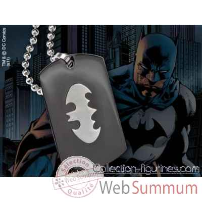Dog tag embleme batman Noble Collection -NNXT8343