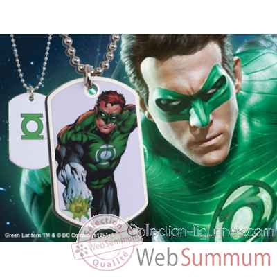 Dog tag green lantern Noble Collection -NNXT8371