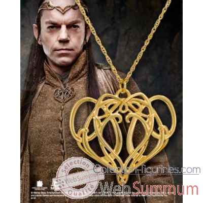 Elrond - pendentif broche argent 925eme Noble Collection -NN1260