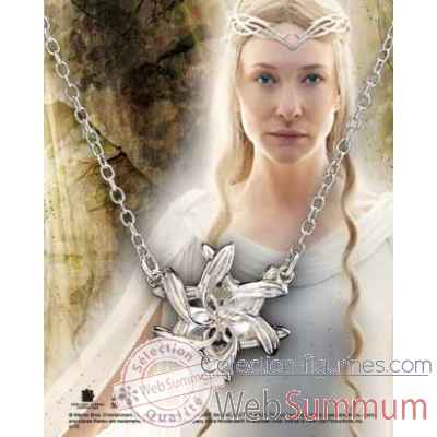 Galadriel - pendentif nenya argent 925eme Noble Collection -NN1248