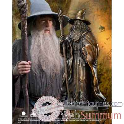 Gandalf - sculpture en bronze Noble Collection -NN1208