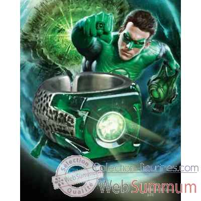 Anneau lumineux Noble Collection Green Lantern