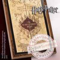 Harry potter presentoir pour replique carte du maraudeur Noble Collection -nob07882