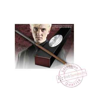 Harry potter réplique baguette de draco malfoy (édition personnage) Noble Collection -NOB8409