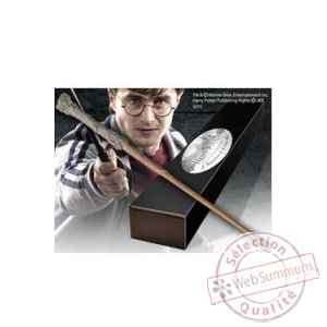 Harry potter replique baguette de harry potter (edition personnage) Noble Collection -NOB8415