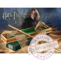 Harry potter replique baguette de hermione granger Noble Collection -nob7021