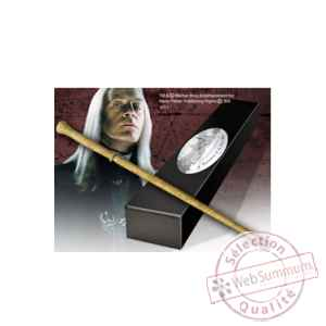 Harry potter replique baguette de lucius malfoy (edition personnage) Noble Collection -NOB8208