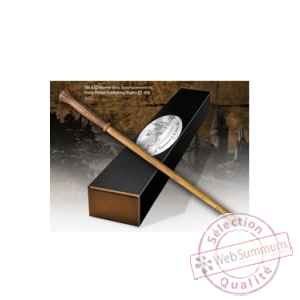 Harry potter replique baguette de molly weasley (edition personnage) Noble Collection -NOB8214