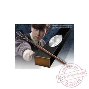 Harry potter replique baguette de neville longbottom (edition personnage) Noble Collection -NOB8292