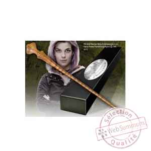 Harry potter replique baguette de nymphadora tonks (edition personnage) Noble Collection -NOB8250