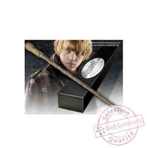 Harry potter replique baguette de ron weasley (edition personnage) Noble Collection -NOB8413