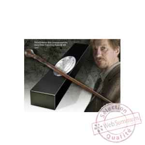 Harry potter replique baguette du professeur remus lupin (edition personnage) Noble Collection -NOB8298