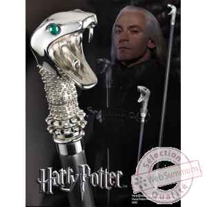 Harry potter réplique canne / baguette de lucius malefoy Noble Collection -nob7639